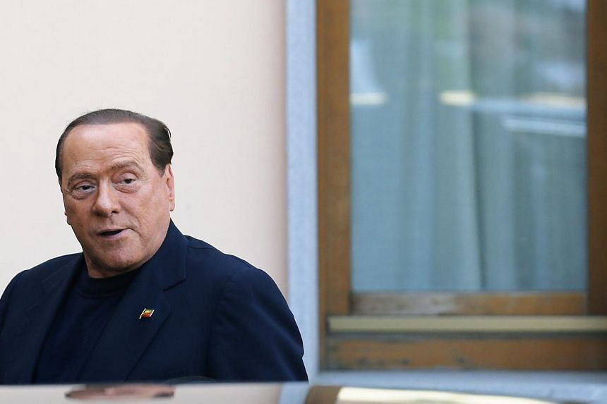 Former Italian Prime Minister Silvio Berlusconi (above) denied media reports on Wednesday that his AC Milan soccer club was up for sale, saying he was not ready to part with the team he has owned for nearly 29 years. -- PHOTO: REUTERS