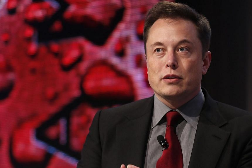 Billionaire Elon Musk has said his company, SpaceX, expects to spend at least US$1 billion (S$1.3 billion) on satellite activities. -- PHOTO: REUTERS