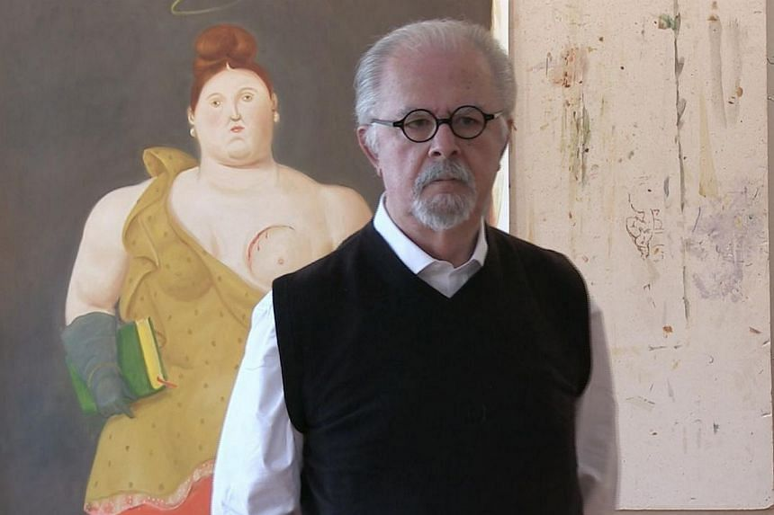 The works of renowned Colombian artist Fernando Botero, 82, will be exhibited at Art Stage 2015. The premier contemporary art fair opens to the public at the Marina Bay Sands Exhibition and Convention Centre from Jan 22 to 25. -- PHOTO:IN