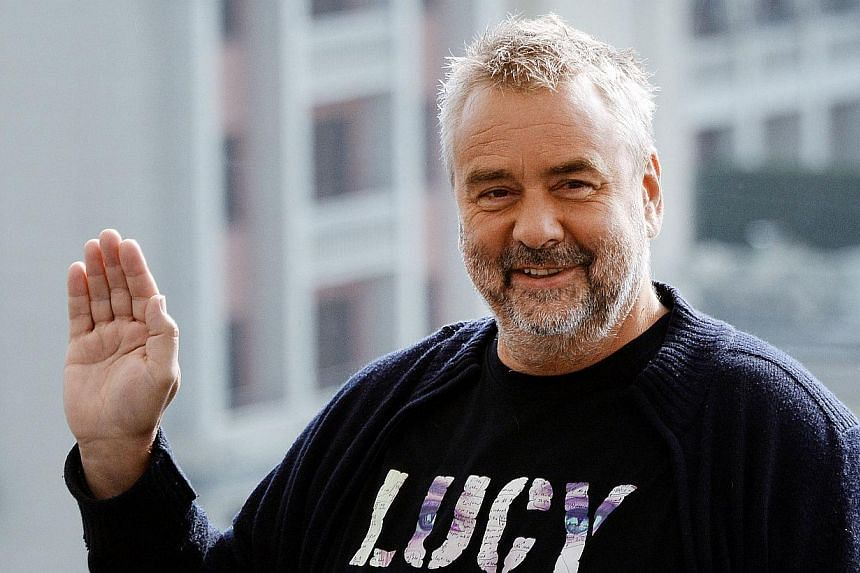 Film director and producer Luc Besson (above) has been honoured with a top award in his native France for a prolific career that produced The Fifth Element, among other blockbusters. -- PHOTO: AFP