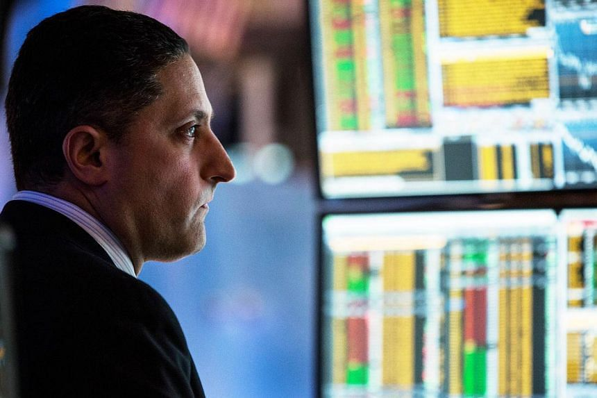 The S&P energy index eked out a gain of 0.09 per cent. -- PHOTO: AFP