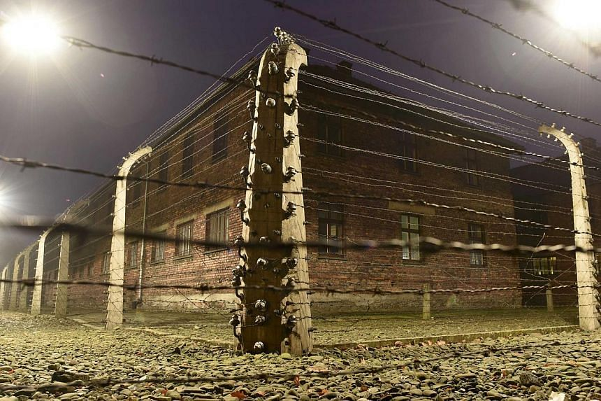A general view of the former German Nazi concentration and extermination camp Auschwitz in Oswiecim on Monday. Ceremonies to mark the 70th anniversary of the liberation of the camp will take place on Jan 27, with some 300 former Auschwitz prisoners t
