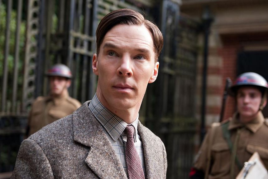 Actor Benedict Cumberbatch as World War II Enigma codebreaker Alan Turing in the movie The Imitation Game.A hidden manuscript written by British mathematician and codebreaker Alan Turing at Bletchley Park is to go on auction in New York in Apri