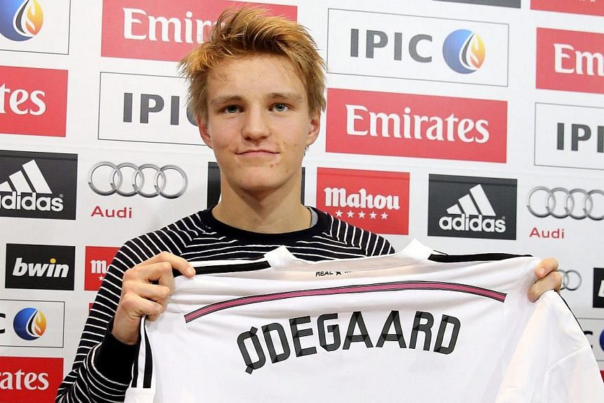 732653701 Football  Real Madrid move a dream for 16-year-old teen wizard Martin  Odegaard