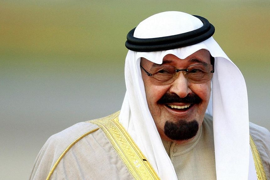 Saudi Arabia's King Abdullah has died, state television reported citing the crown prince. -- PHOTO: REUTERS