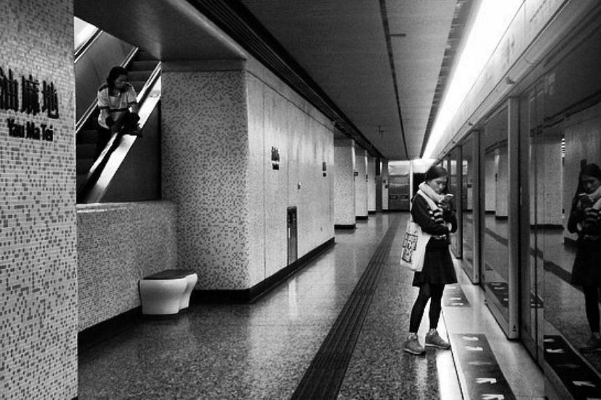 One of the photos taken by Ms Xyza Cruz Bacani, a Filipina domestic worker in Hong Kong. -- PHOTO: FACEBOOK/XYRA CRUZ BACANI