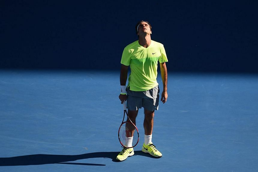 Roger Federer during his match against Andreas Seppi at the Australian Open.Second seed Federer was bundled out in third round by Seppi on Friday, suffering his first career defeat in 11 meetings between the pair in the 6-4, 7-6 (7-5), 4-6, 7-6