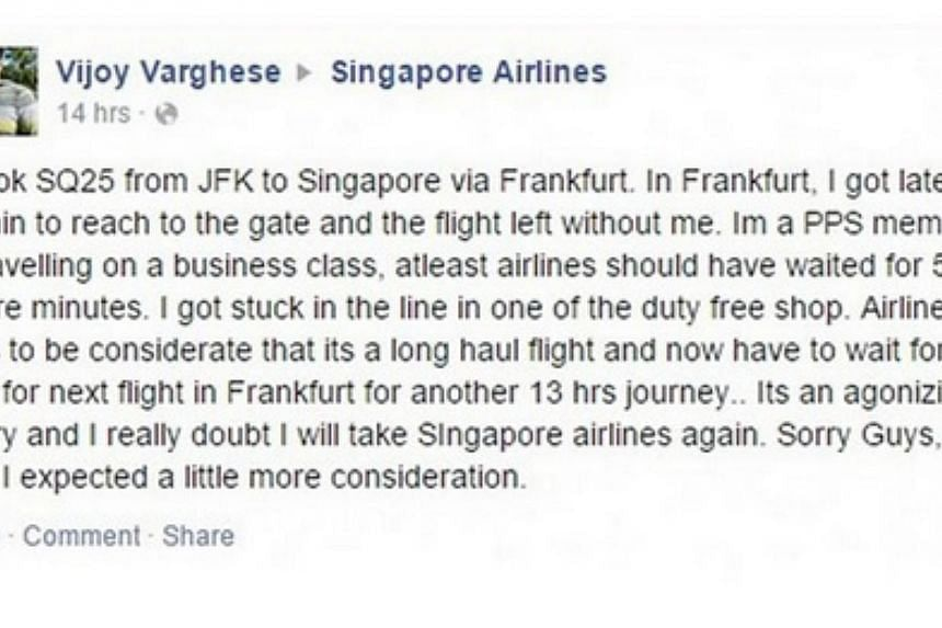 netizens slam sia passengers who complain about inflight service on
