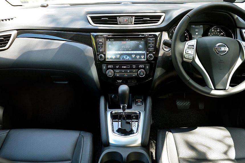 Car Review Nissan S Compact Crossover Qashqai Is Powerful And