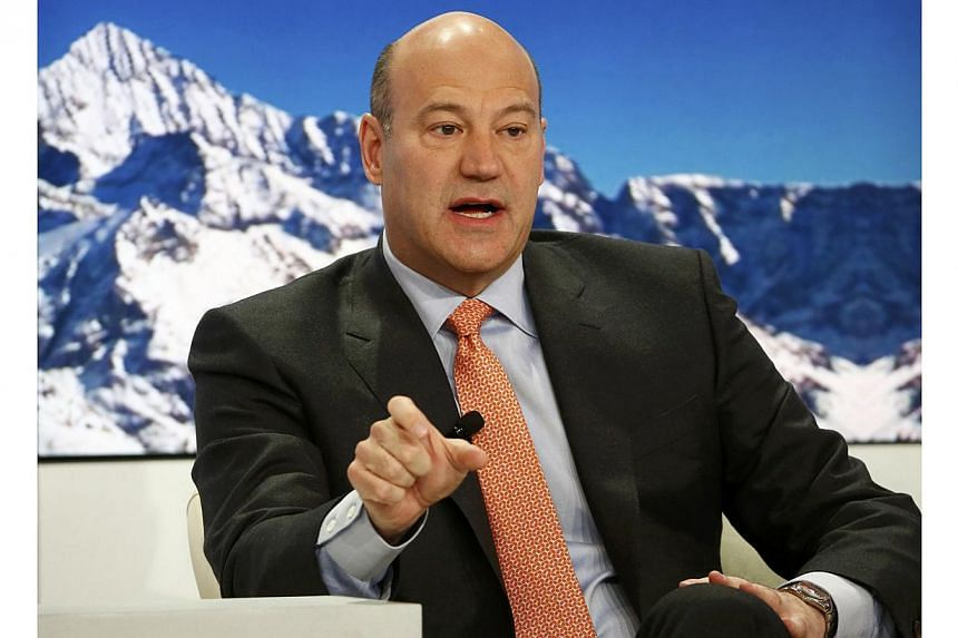 Gary Cohn, President and Chief Operating Officer of Goldman Sachs, speaks at the Ending the Experiment event in the Swiss mountain resort of Davos on Jan 22, 2015. Cohn has urged Britain to stay within the European Union, warning, ahead of a May gene