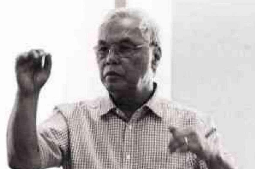 """Mr Ed Gatchalian, the composer of Singapura, a musical on Singapore: """"I have been retired from corporate life since 2007 and I want to devote my life to my passion, which is music."""" -- PHOTO: THE PHILIPPINE INQUIRER/ASIA NEWS NETWORK"""