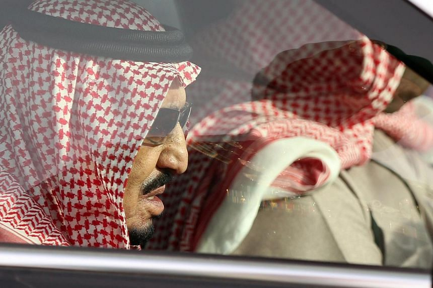 Saudi Arabia's King Salman arriving for the funeral of his half-brother, the late King Abdullah, in Riyadh on Jan 23, 2015. The United States does not expect any change in its relations with Saudi Arabia following the death of longtime King Abdullah