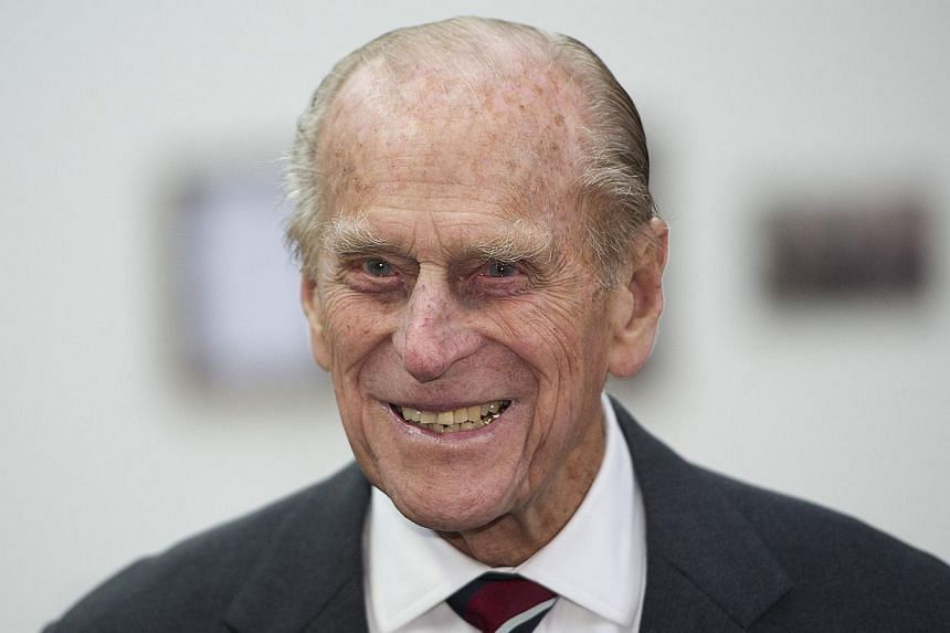 Prince Philip, the Duke of Edinburgh, was awarded Australia's highest honour as a Knight of the Order of Australia. -- PHOTO: AFP
