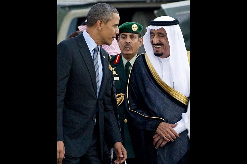 With the accession of King Salman - see here in a file photo with US President Barack Obama - Saudi Arabia and the emirates are expected to continue the practice of leaving oil prices to the market.