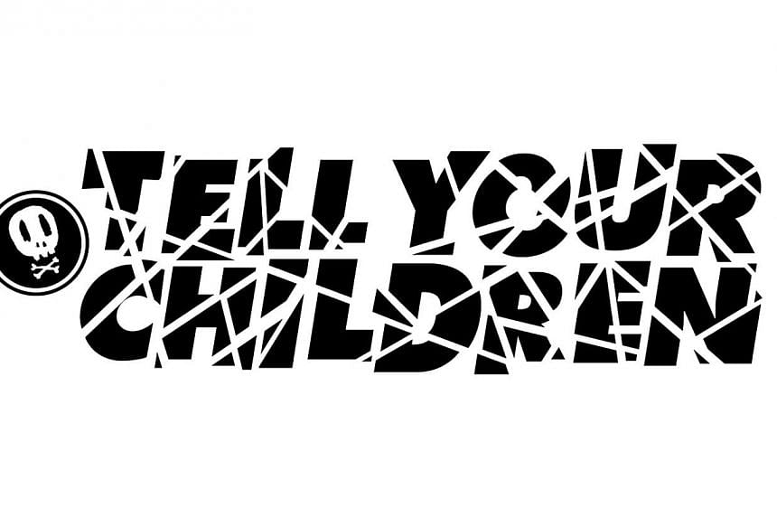 Graphic designed by Deon Phua from Tell Your Children. -- PHOTO: DEON PHUA