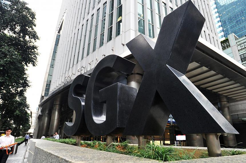 The Singapore Exchange announced this new facility in partnership with high-tech accelerator, Clearbridge Accelerator (CBA). They inked a memorandum of understanding recently to develop this fund raising platform. -- PHOTO: ST FILE