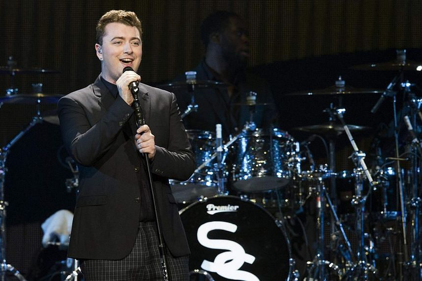 Sam Smith has agreed to credit Tom Petty as an author of his Grammy-nominated hit Stay With Me after acknowledging similarities - which he insists are coincidental - to Petty's I Won't Back Down. -- PHOTO: REUTERS