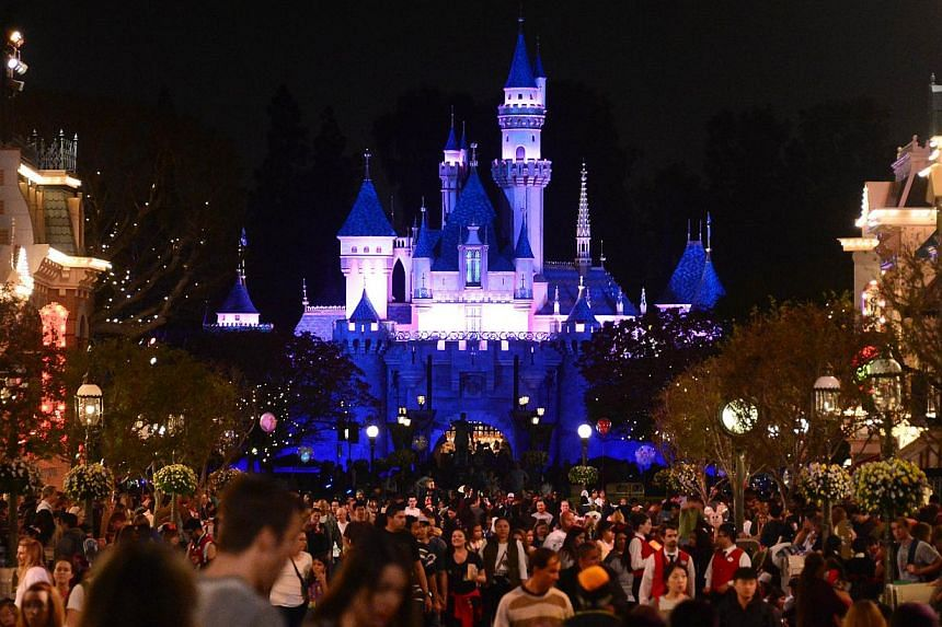 Most of the 88 known cases of measles in California and out of state have been linked to an outbreak that is believed to have begun when an infected person visited the Disneyland resort in Anaheim between Dec 15 and Dec 20. -- PHOTO: AFP