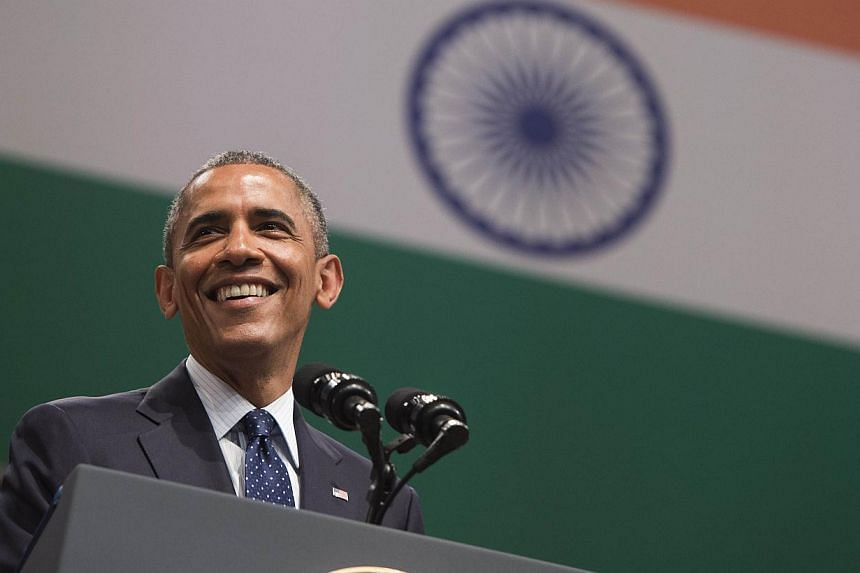Mr Obama says that even if countries like the United States curb their emissions, if growing countries like India - with soaring energy needs - do not also embrace cleaner fuels, then the world does not stand a chance against climate change. -- PHOTO