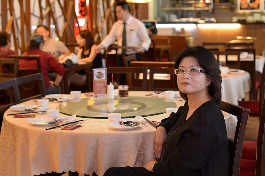 Old Hong Kong Kitchen owner Victoria Li says her restaurant turns away customers at times when a staff member does not show up for work. The eatery in Novena started a home delivery service six months ago to cut demand for staff.