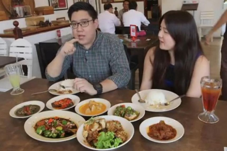 Razor TV multimedia journalists Low Yi Qian and Olivia Chang went to Rumah Makan Minang at Kandahar Street to try out the popular dishes offered by the nasi padang restaurant. -- PHOTO:SPH RAZOR TV