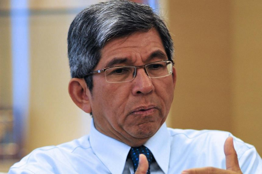 From April, Minister for Communications and Information Yaacob Ibrahim will be the minister in charge of cyber security. -- PHOTO: ST FILE
