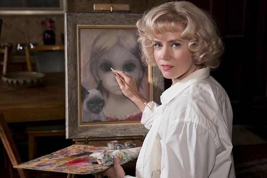 Actress Amy Adams on artist Margaret Keane, whom she plays in Big Eyes (above). -- PHOTO: GOLDEN VILLAGE