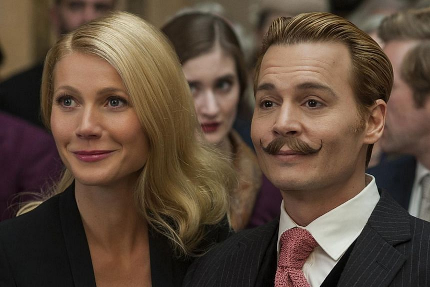 Johnny Depp's oddball schtick is tiresome in Mortdecai, Entertainment News  & Top Stories - The Straits Times