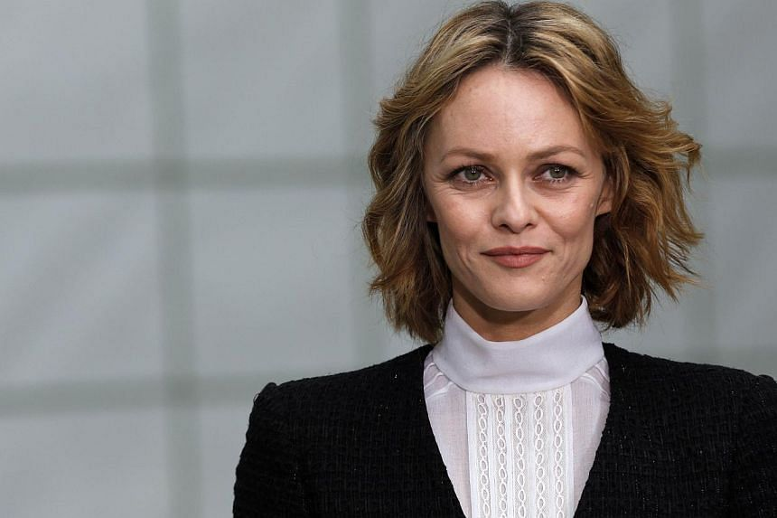 French actress and singer Vanessa Paradis poses prior to attend Chanel 2015 Haute Couture Spring-Summer collection fashion show on Jan 27, 2015 at the Grand Palais in Paris. -- PHOTO: AFP