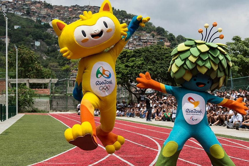 New mascots for the Rio 2016 Olympic and Paralympic Games are presented in Rio de Janeiro, Brazil, on Nov 24, 2014. Sixteen people have been hit, and four killed, by stray bullets so far in January in Rio de Janeiro, according to the police, intensif