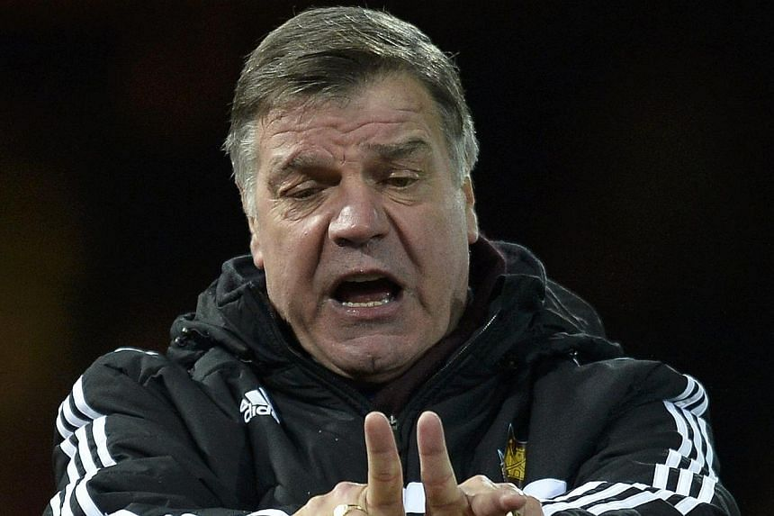 West Ham United manager Sam Allardyce on Thursday criticised Senegal over their behaviour with regard to his club's players Diafra Sakho and Cheikhou Kouyate. -- PHOTO: REUTERS