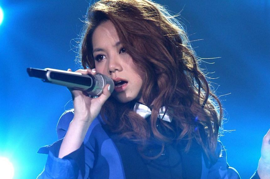 G.E.M. made her mark outside Hong Kong after emerging runner-up on China reality TV competition I Am A Singer 2 last year. -- PHOTO: NOW MANGO