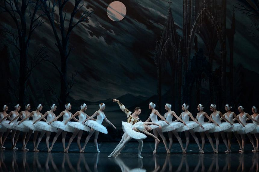 The 55-member company will be presenting Tchaikovsky's Swan Lake. -- PHOTO: ST PETERSBURG BALLET