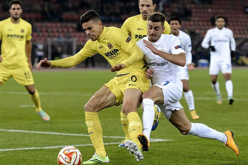Arsenal have signed Brazilian defender Gabriel Paulista (left) from Villarreal, the Premier League club said on Wednesday. -- PHOTO: AFP