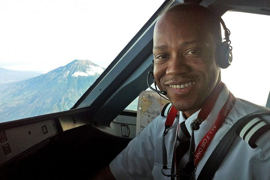 Rémi-Emmanuel Plesel, the co-pilot of missing AirAsia flight QZ8501, was flying the plane - supervised by the pilot - before it crashed last month. -- PHOTO: AFP/COURTESY OF THE PLESEL FAMILY