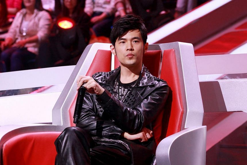 Pop king Jay Chou will join The Voice Of China as a judge in the coming fourth season, the talent show announced on Weibo today. -- PHOTO:MEDIACORP