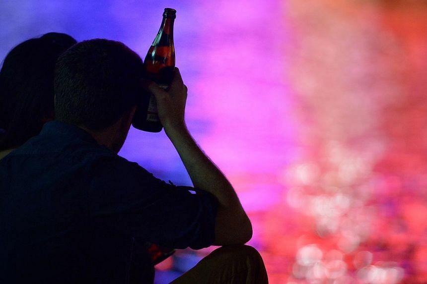 In Singapore last year, there were 115 cases of serious hurt which were related to drinking. PHOTO: ST FILE