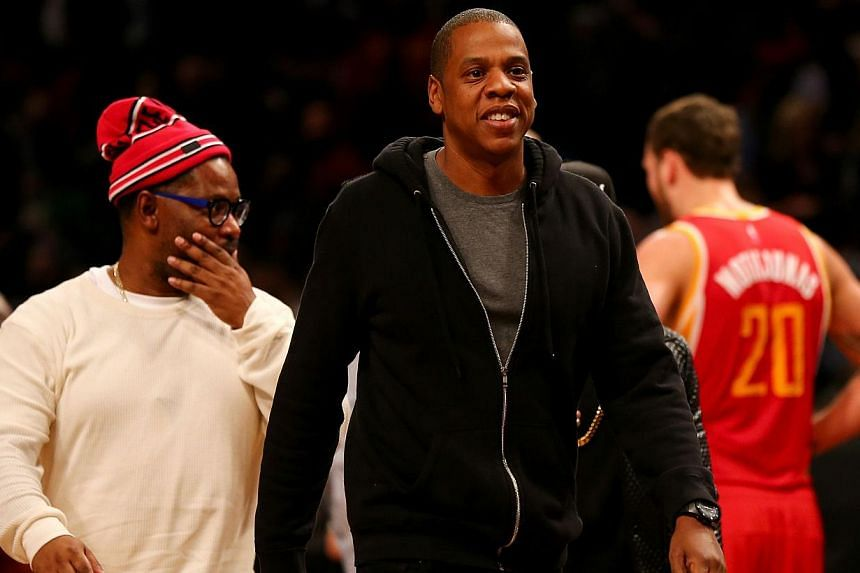 Jay Z is buying a Scandinavian music streaming company for US$56 million (S$76 million) to add to a business empire that has spanned clothing and sports bars. -- PHOTO: AFP