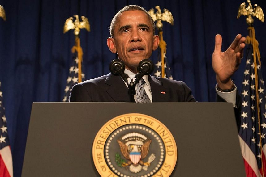 """President Barack Obama will propose that the US government plow US$215 million into """"precision medicine"""" research, a field proponents say can advance the treatment of diseases like cancer and diabetes. -- PHOTO: AFP"""