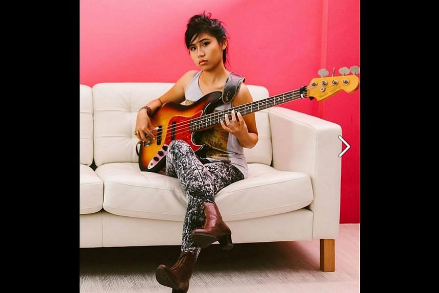Singer-songwriter BittyMacbeth will perform funk and soul tunes tomorrow at The Mill. -- PHOTO: BITTYMACBETH FACEBOOK PAGE
