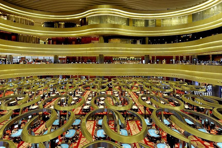 Marina Bay Sands (MBS) has been fined $65,000 by the Casino Regulatory Authority of Singapore (CRA). -- PHOTO: ST FILE