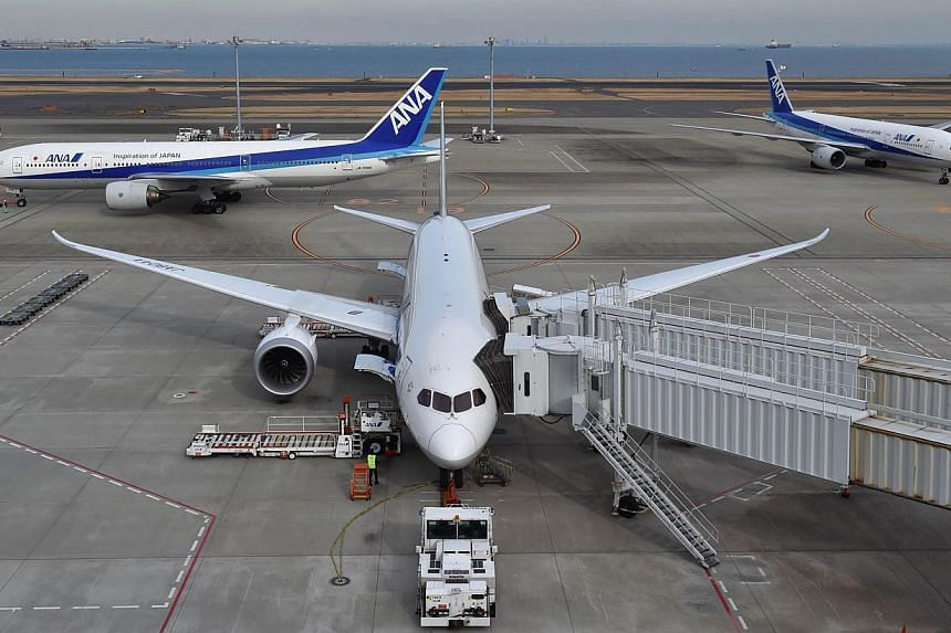 Japan's All Nippon Airways said on Jan 30, 2015 that its April-December net profit soared 57.2 percent to 52.36 billion yen (443 million USD) from a year ago, as an expansion at a downtown Tokyo airport boosted the carrier's international business. -