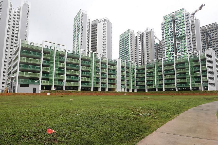 The case of Eternal Pure Land winning the bid for a temple site in Sengkang (pictured above) has raised questions on land-use models and the tender process.-- ST PHOTO:NEO XIAOBIN