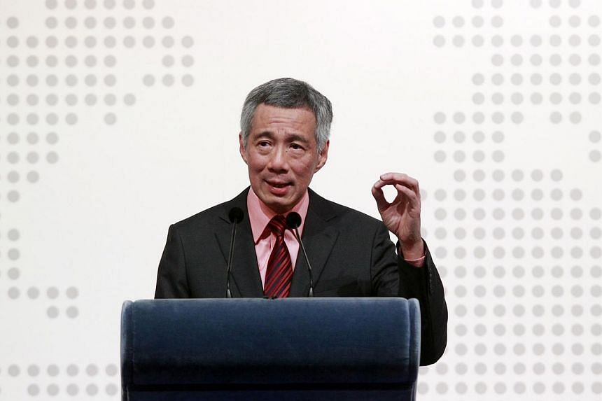 Singapore could have turned out very differently today if history had taken a different course, Prime Minister Lee Hsien Loong said on Thursday night. -- PHOTO: LIANHE ZAOBAO FILE