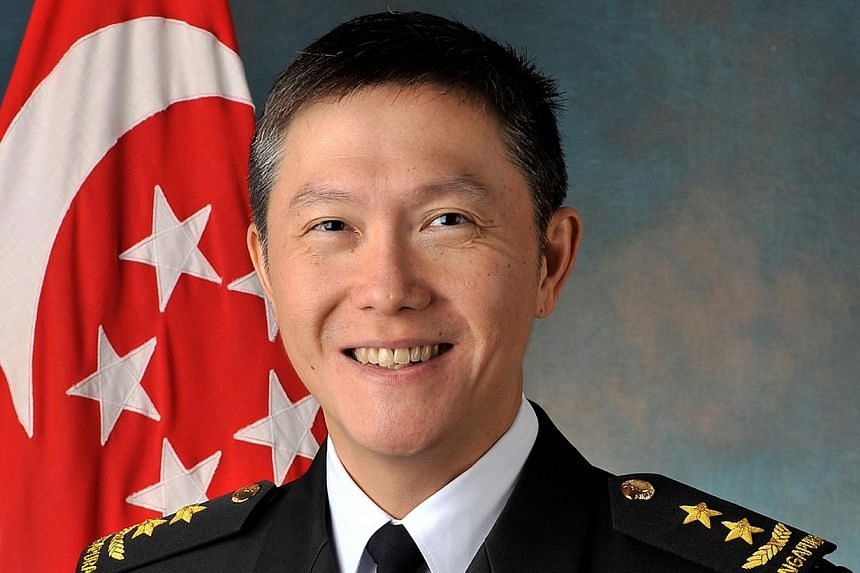 Mr Ng Chee Peng was the Chief of Navy prior to joining MOM last year.-- PHOTO: MINDEF