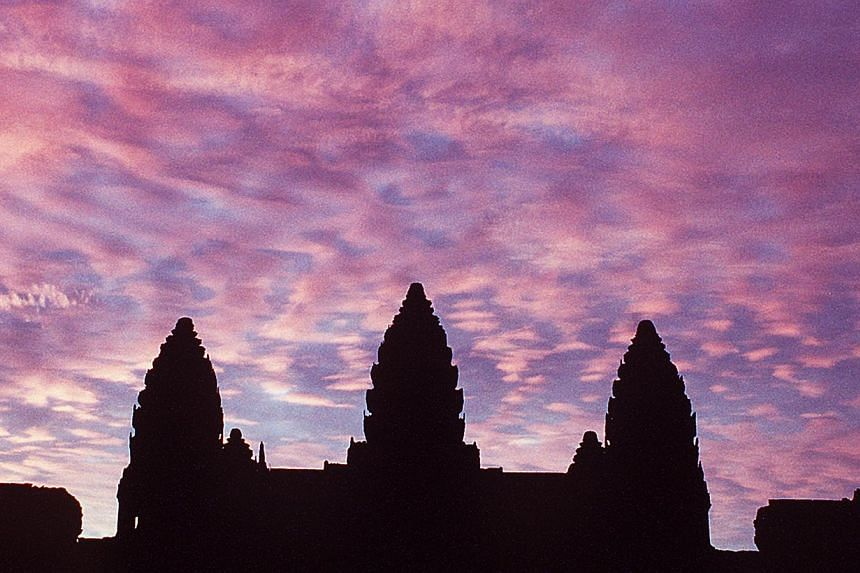 Three French tourists will be deported from Cambodia after they pleaded guilty to taking nude pictures of each other inside the country's famed Angkor temple complex, a prosecutor said on Saturday. -- ST PHOTO:MALCOLM MCLEOD