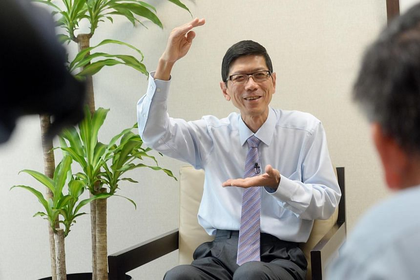 A small group interview with CPF Advisory Panel chairman Tan Chorh Chuan, who is also NUS president. The panel reviewing the Central Provident Fund (CPF) is expected to push for people to be allowed to make lump sum withdrawals from the retirement fu