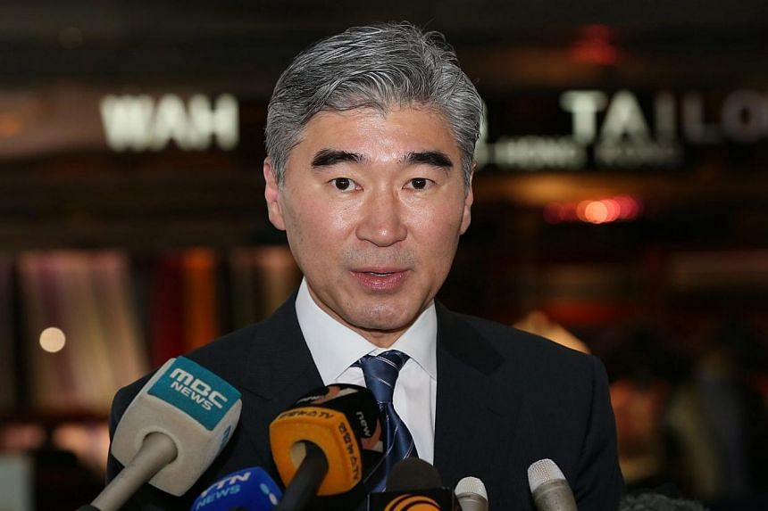 North Korea said on Sunday, Feb 1, 2015, that the United States had rejected an invitation to send Mr Sung Kim (above), theUS special representative for North Korea policy,to Pyongyang, accusing Washington of trying to shift the blame for