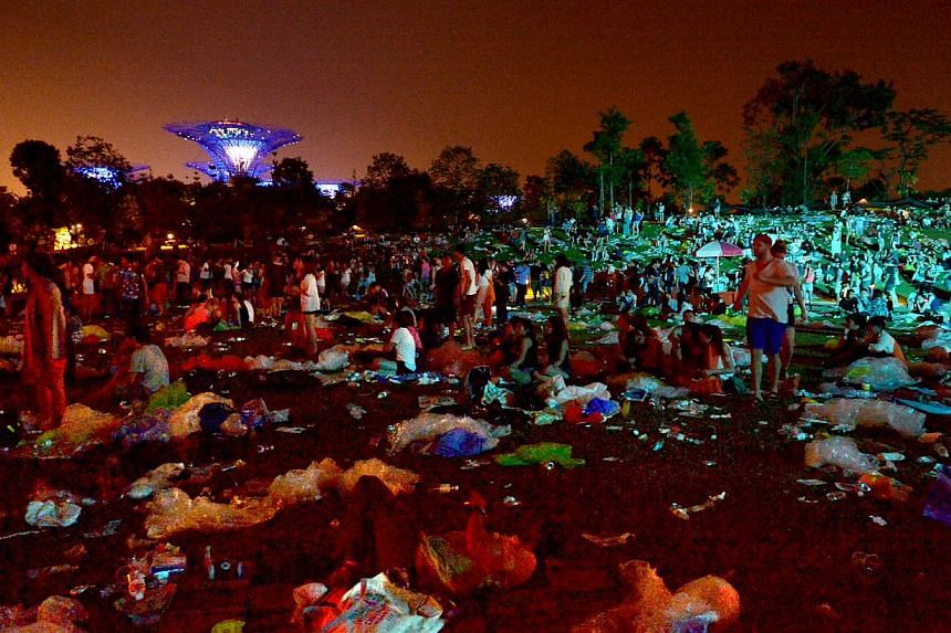 The mounds of rubbish left behind by festival-goers at the Laneway music jamboree sparked an online ruckus which involved much mud-slinging, among other unsavoury forms of behaviour.