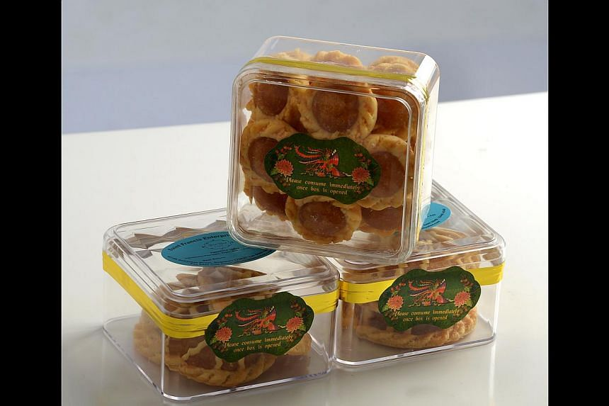 True Blue Cuisine's winning pineapple tarts are based on a Nonya recipe.
